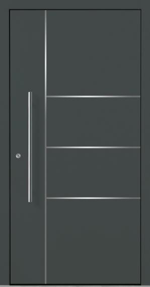 Relativ Haustür Grau Ral   Db Farben Und Ral Farben Für Haustüren Aus Holz ES66