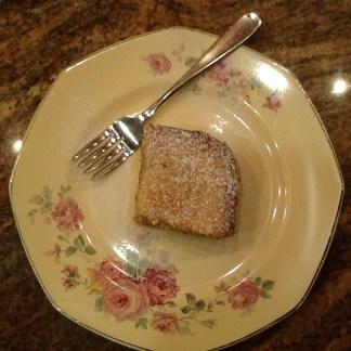 St Louis Gooey Butter Cake Slice