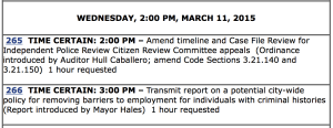 agenda mar 11-12  265-266