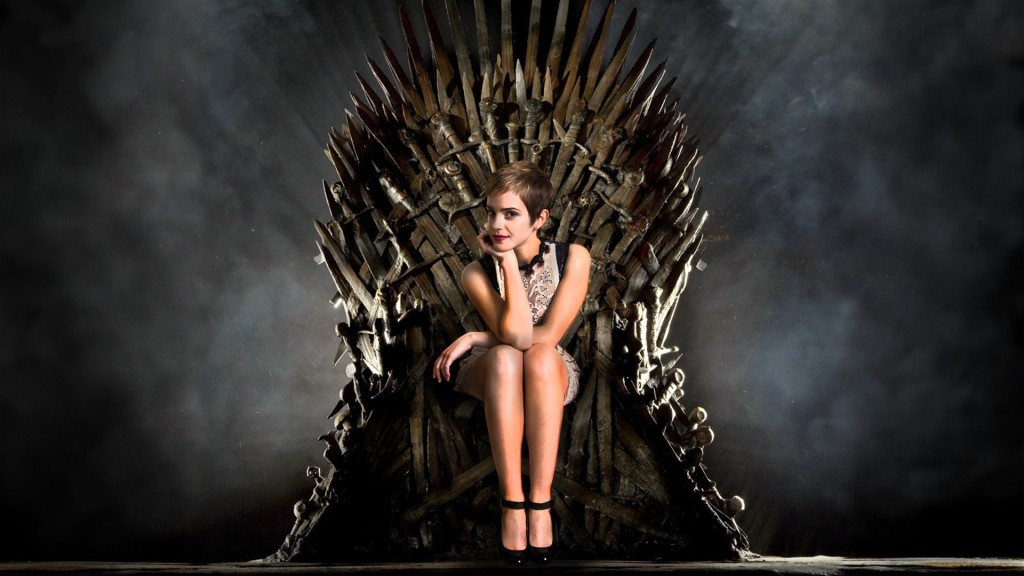 Hermione on the Throne
