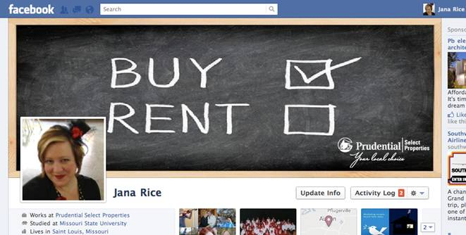 Real Estate Themed Facebook Covers  Prudential Select Properties  Tuesday Tech Tips
