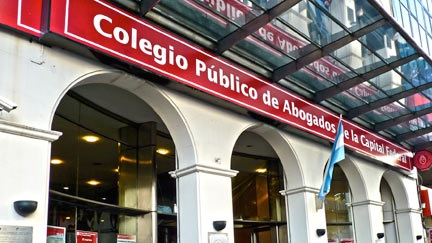 Resultado de imagen de Colegio Publico abogados capital Federal