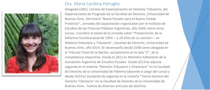 referencias carolina petraglia