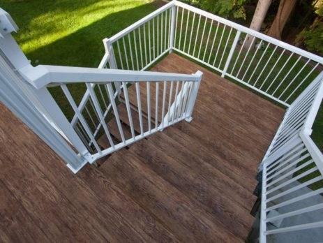 Choosing The Best Vinyl Deck Railings   Vinyl Railing For Steps   Aluminum   Veranda   Hand   Square   Traditional