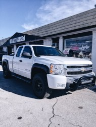 Chevy leveled truck