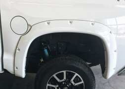 Riveted Flares Painted to Match