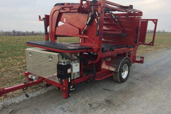 Hoof Trimming Chute - Tuffy Tilt Tables