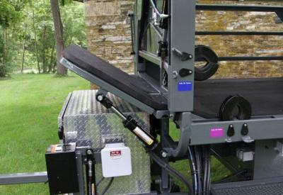 Hydraulic Neck Bender for Hoof Trimming Chute