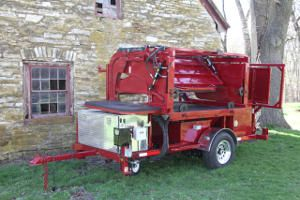 Portable Hoof Trimming Chute for Cattle