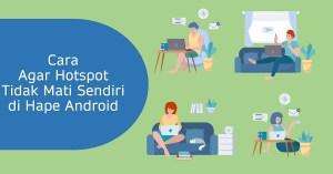 Sekian tutorial singkat mengenai hotspot di hape android.