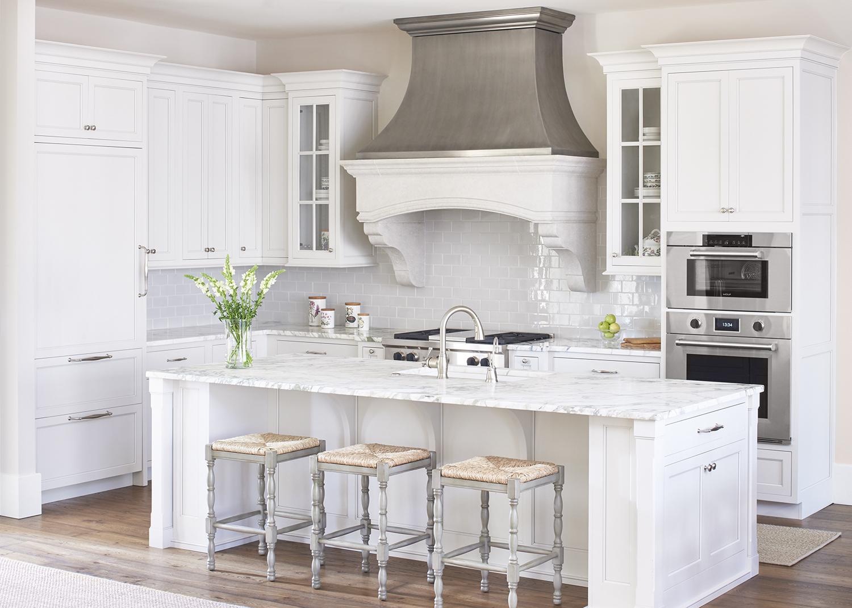 10 Fabulous Gray and White Kitchens  Tuft  Trim