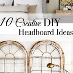 10 Creative Diy Headboard Ideas Tuft Trim