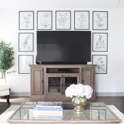How To Design My Living Room Grey Couch 8 Creative Ways Decorate Around Your Tv Tuft Trim