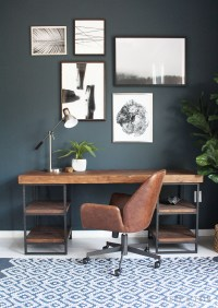 Modern Industrial Studio Office Design - Tuft & Trim