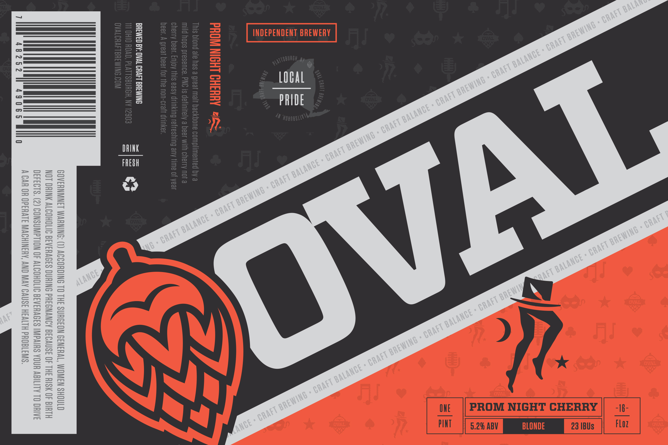 Oval Craft Brewing Tufton