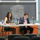 Tufts Debaters at the Interschool Debate