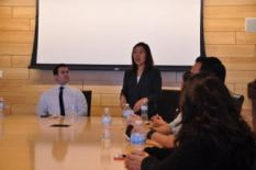 Grand Master Laura Shim D'16 of Tufts Mu Chapter