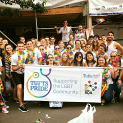 Tufts Dental LGBTQA with Tufts Med LGBTQA