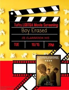Boy Erased Movie Screening @ CE Classroom 1415