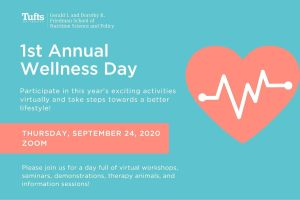 1st Annual Wellness Day @ Zoom - Virtual