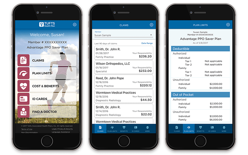 mobile app tufts health