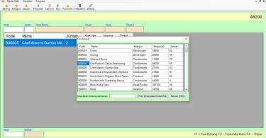 Sistem Informasi Penjualan Tunai C#