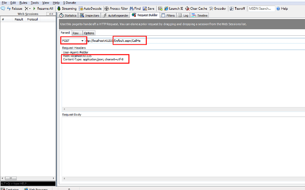 ASP.NET Web Forms : Calling Web Service Page Methods Using JQuery ...