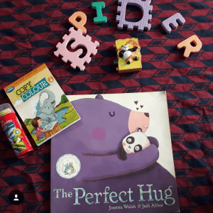 Perfect Hug, Toddlers Book, Books for kids