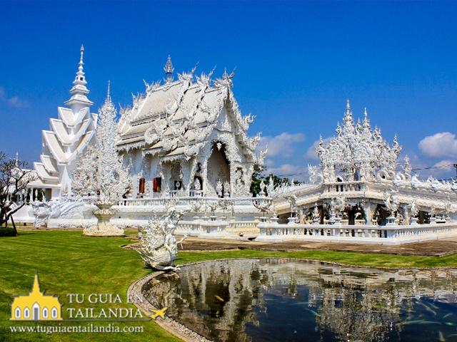 Templo Blanco en Chiang Rai