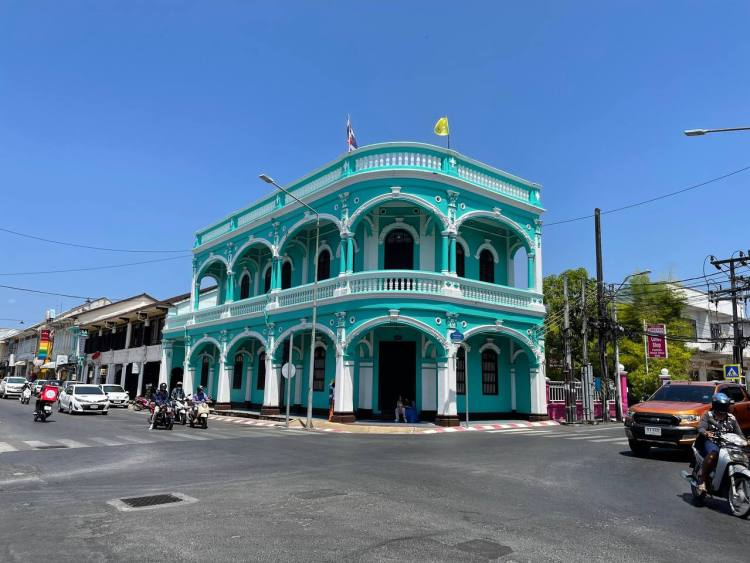 Arquitectura Portuguesa en Phuket Town