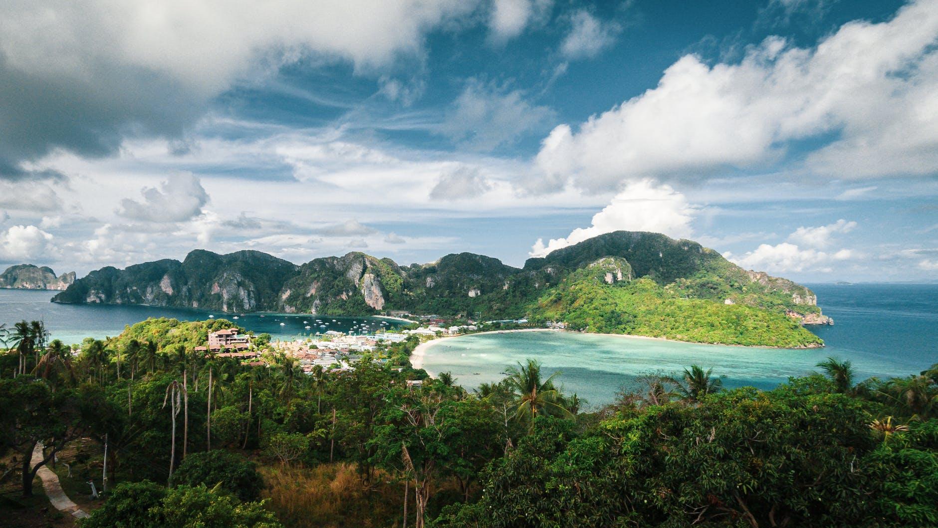 sea landscape nature sky