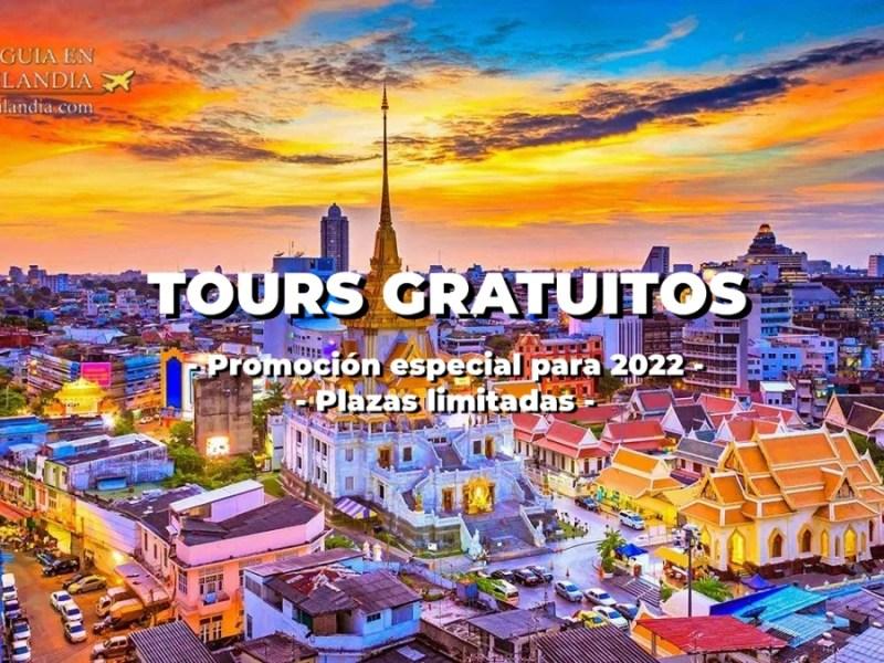 tours gratuitos en Tailandia
