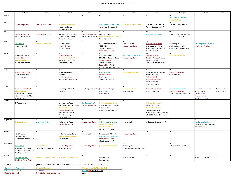 170502 Actualización de Calendario de Torneos