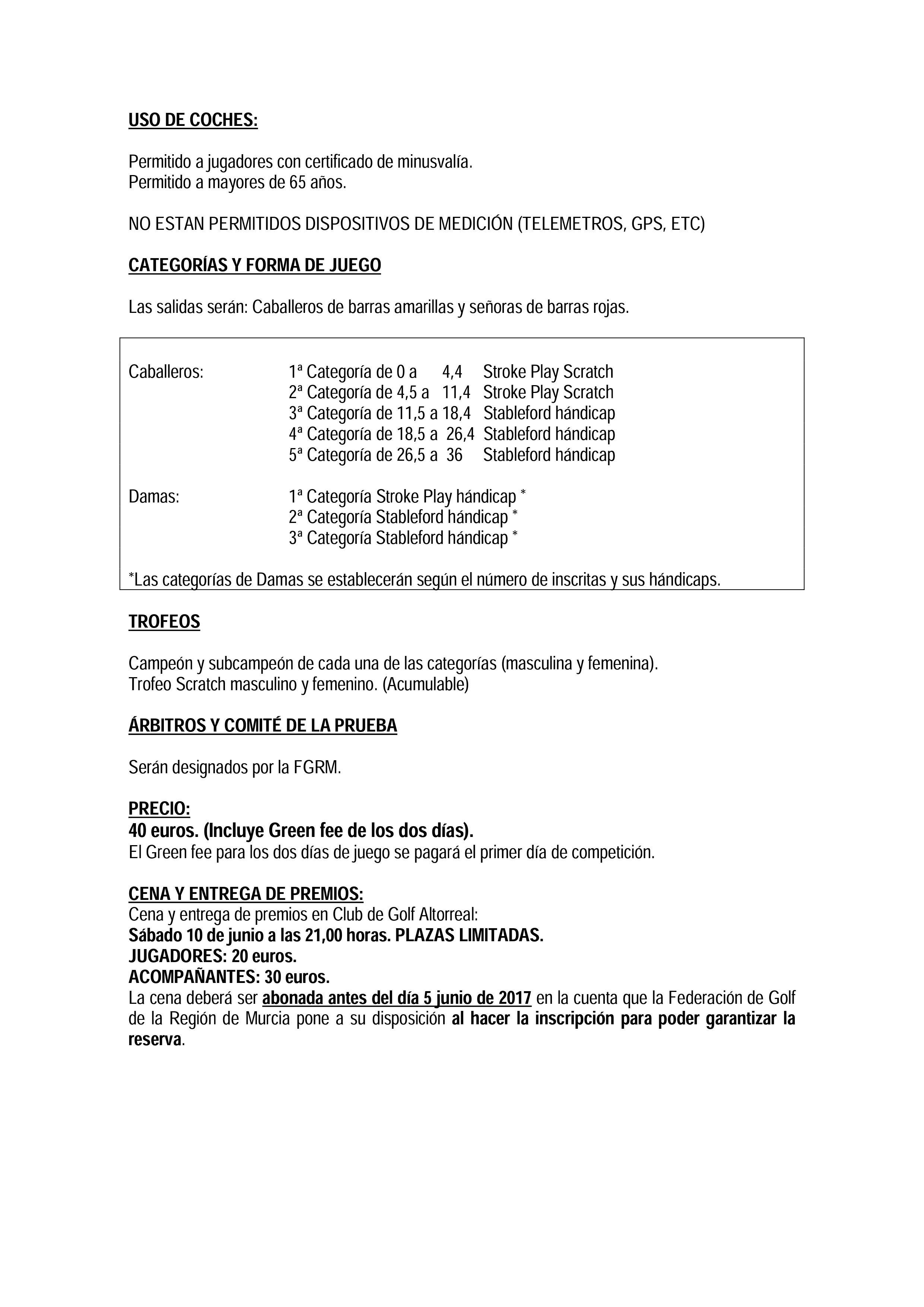 170610 ALT/VAL, Reglamento (2)