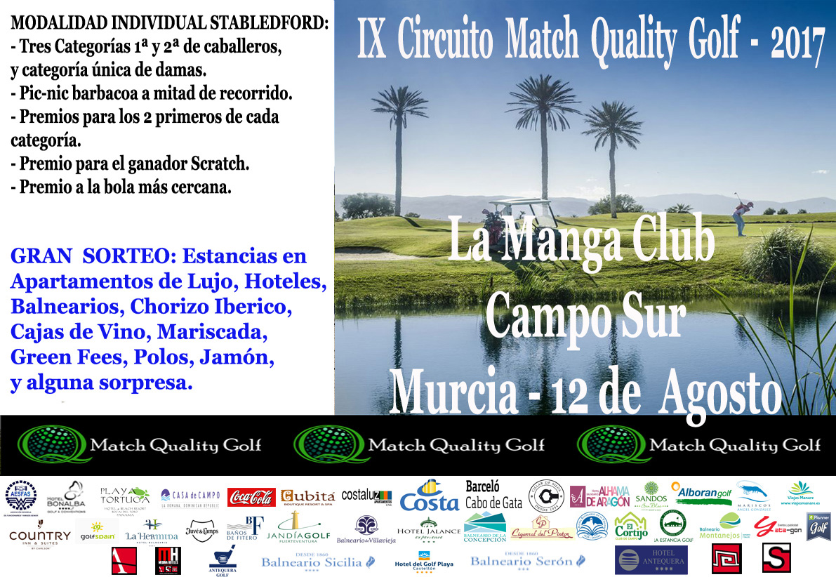 IX Circuito Match Quality Golf LMC 2017