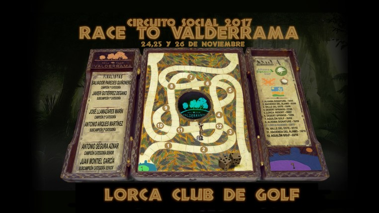 171125 VDR, Presentación del torneo