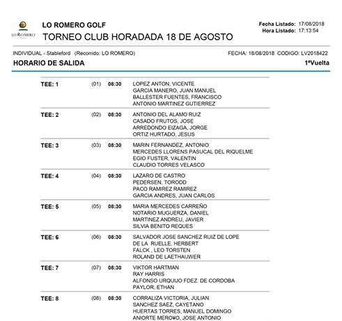 180818 LRO, Horario de salidas (1)