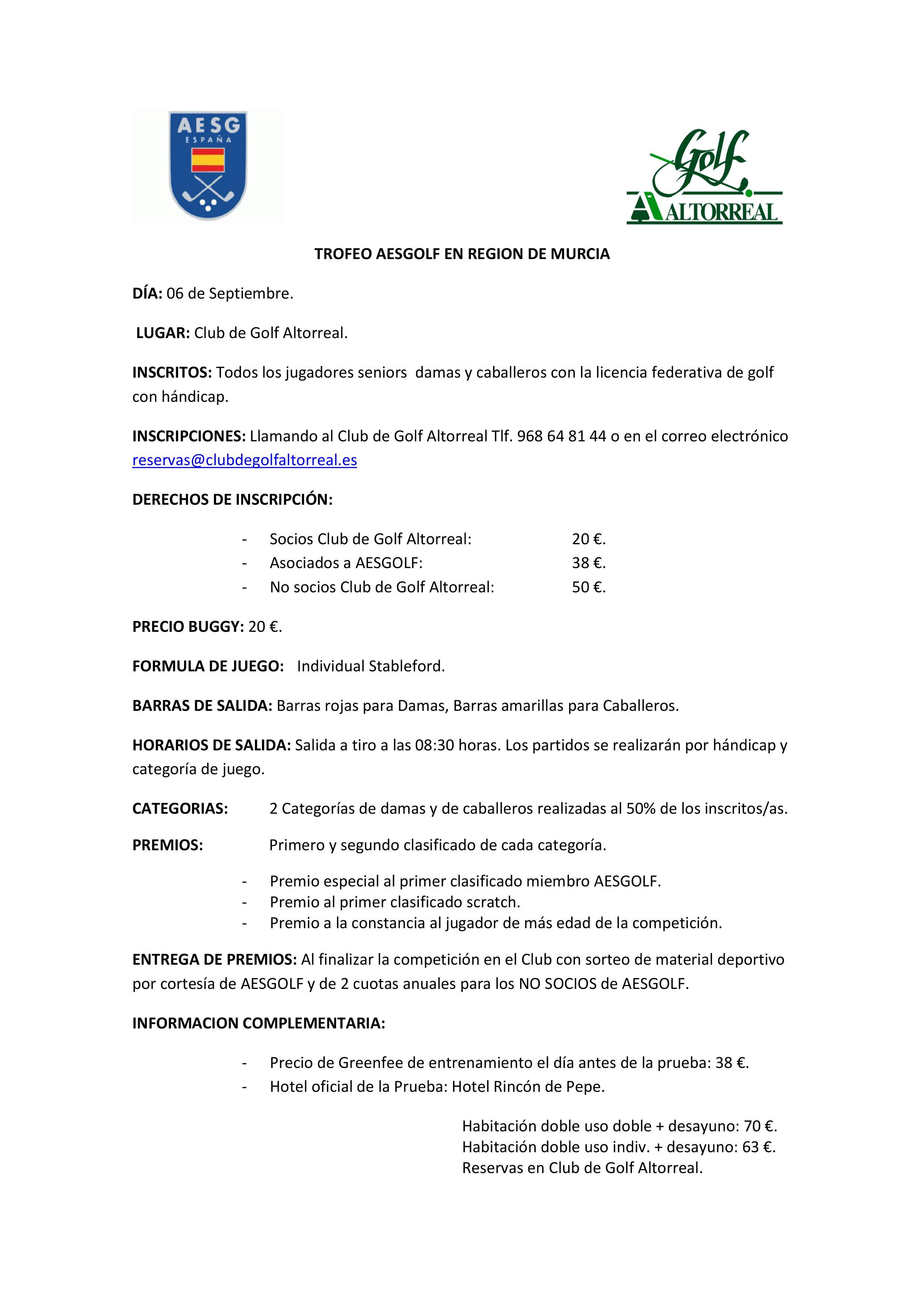 180906 ALT, Información del torneo