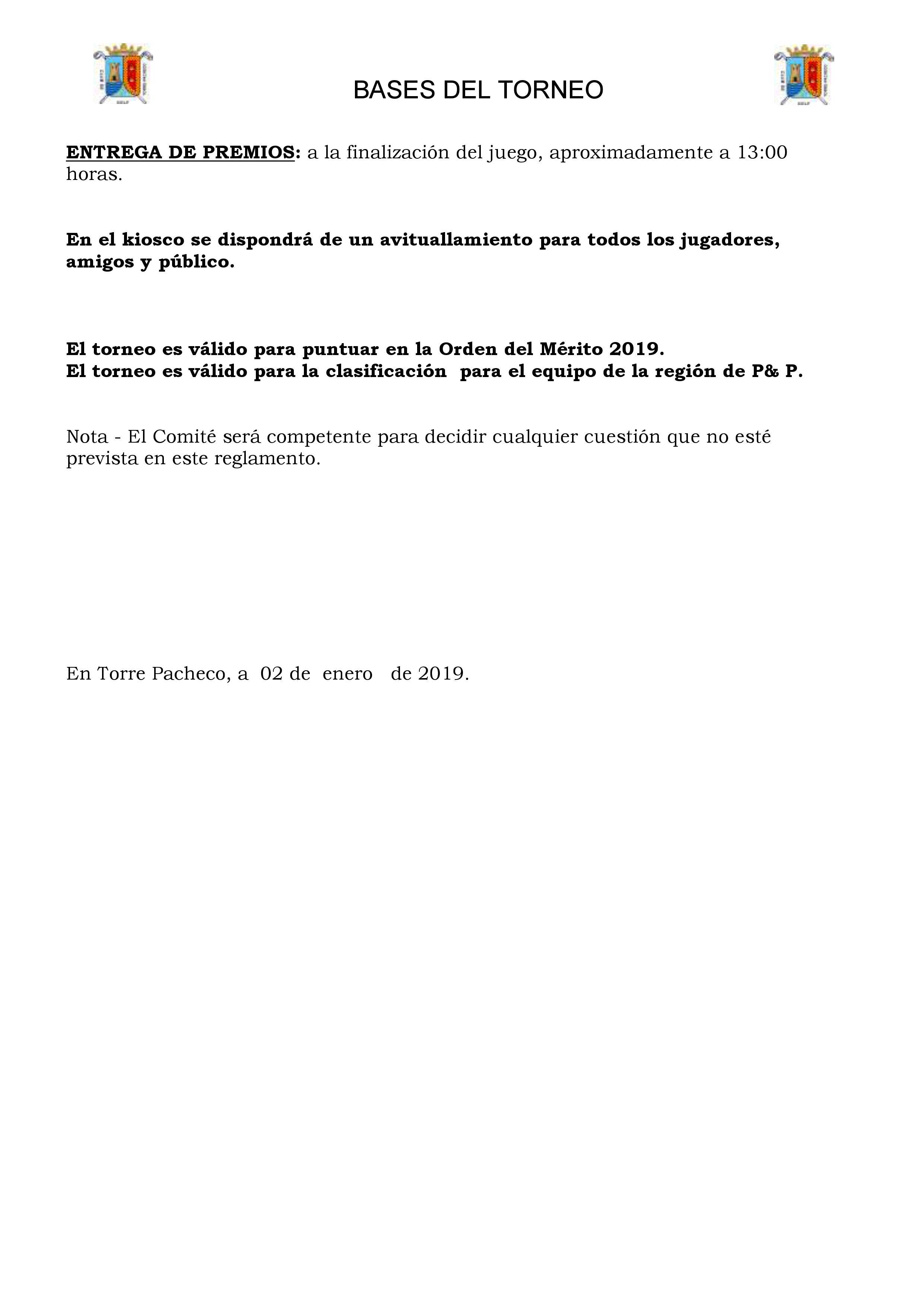 190120 TPA, Reglamento (2)