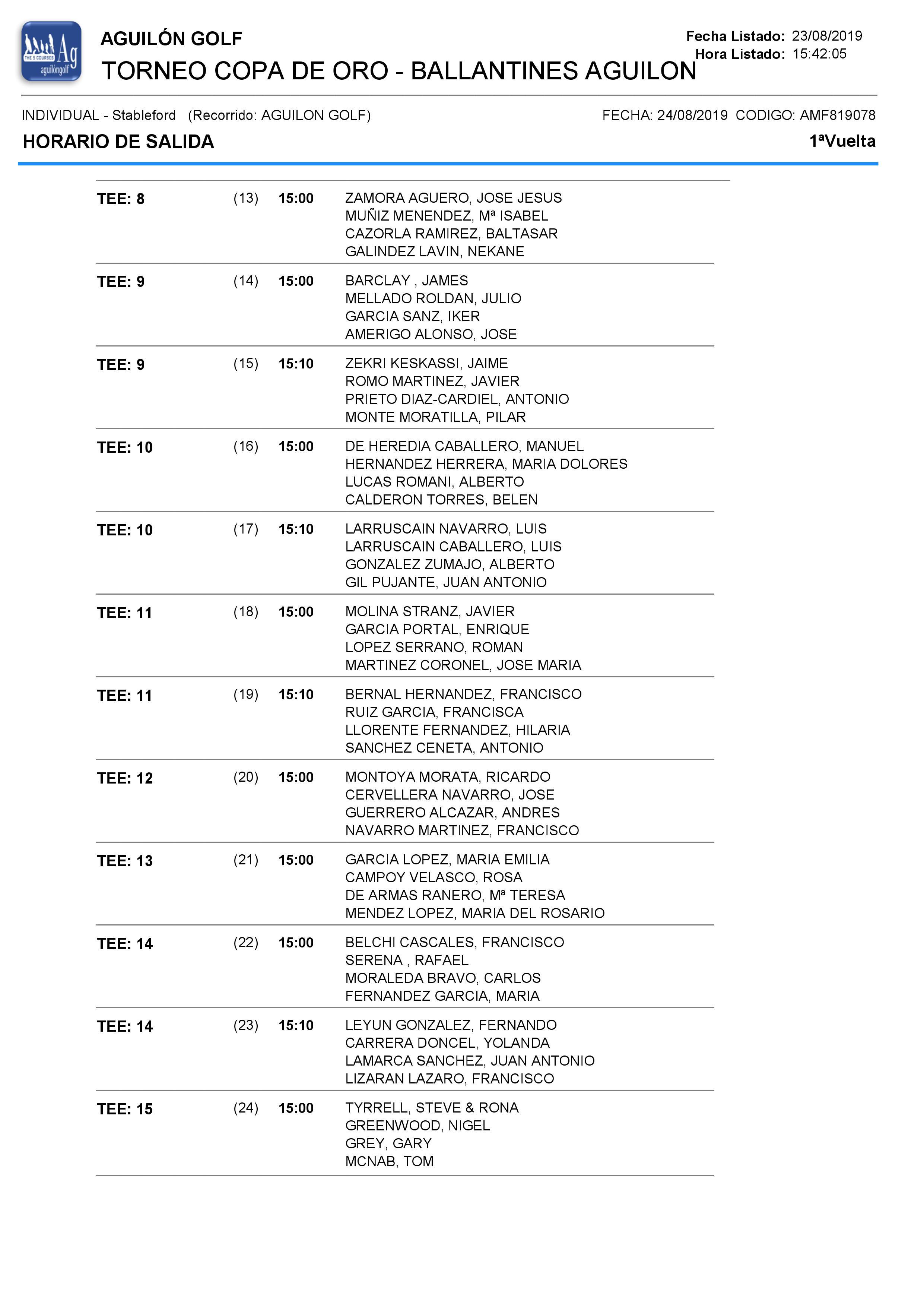 190824 AGU, Horario de salidas (2)