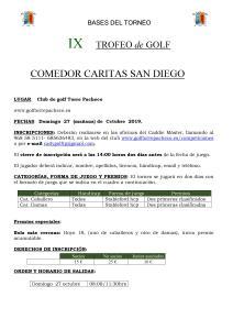 191027 TPA, Reglamento del torneo (1)