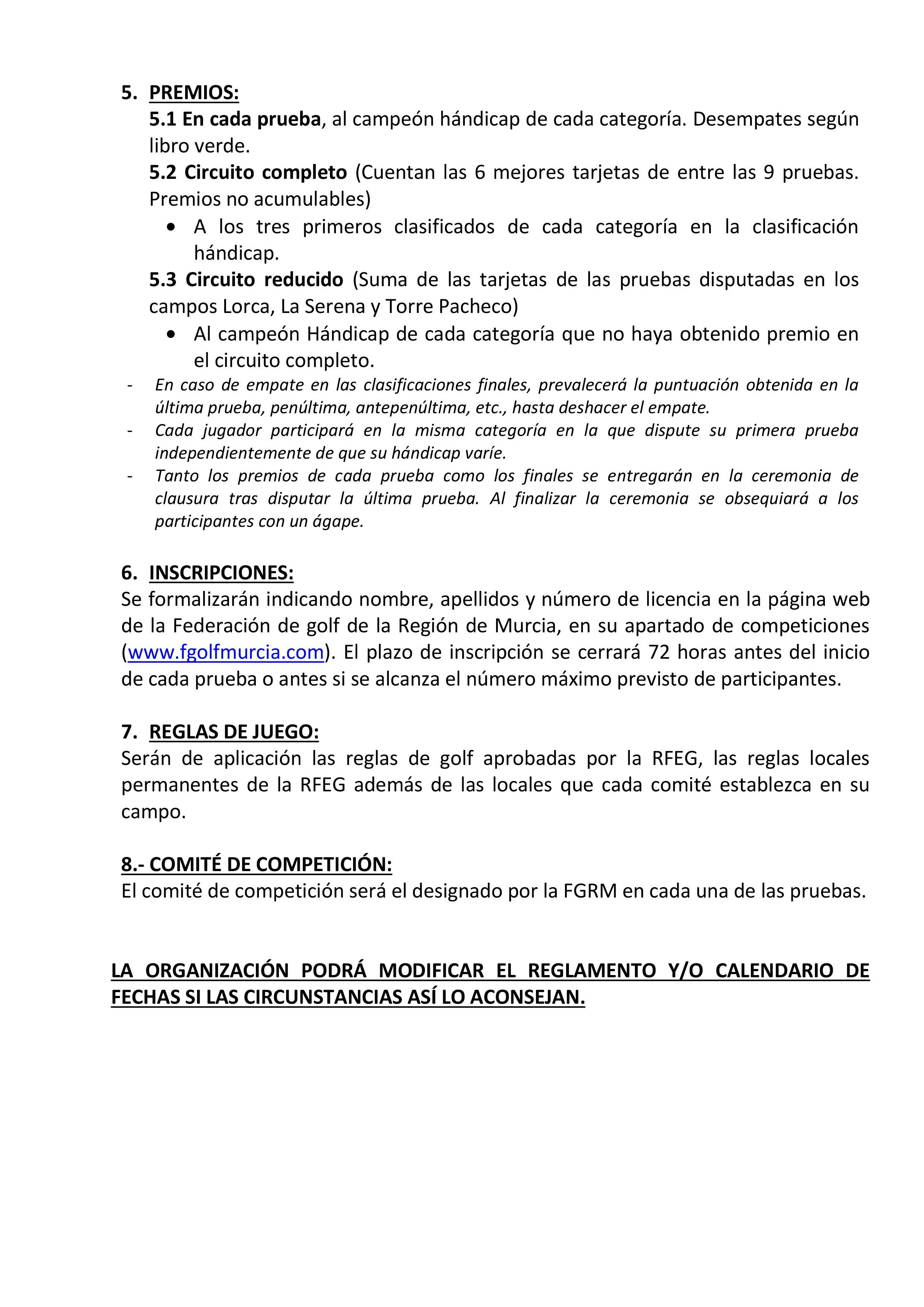 191116 TPA, Reglamento (2)