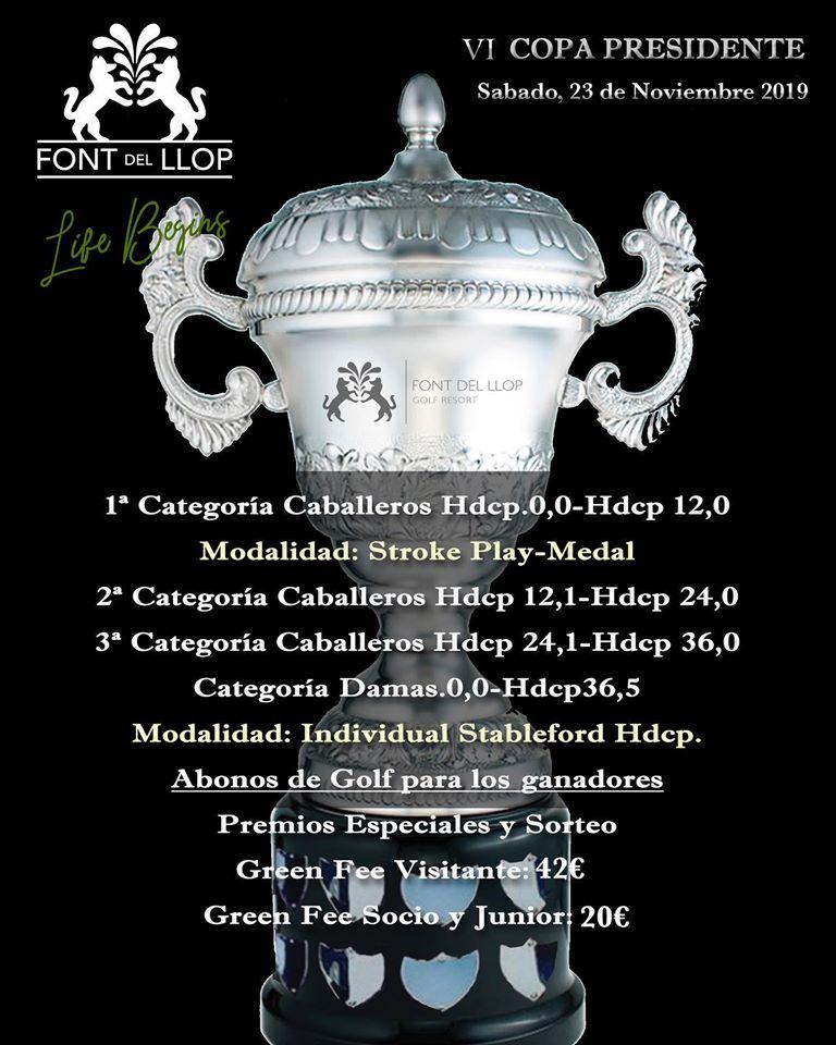 191123 FON, Cartel del torneo