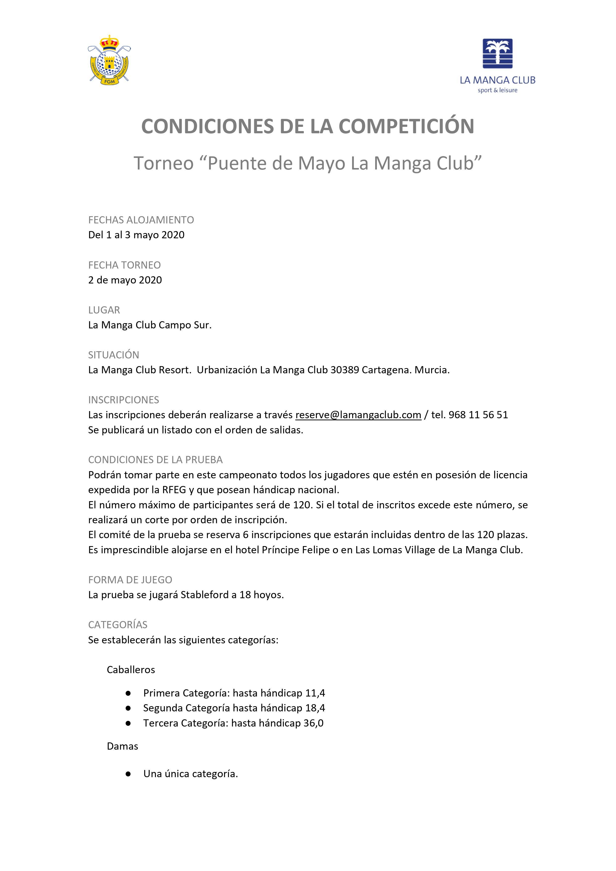 200503 May, Reglamento (1)