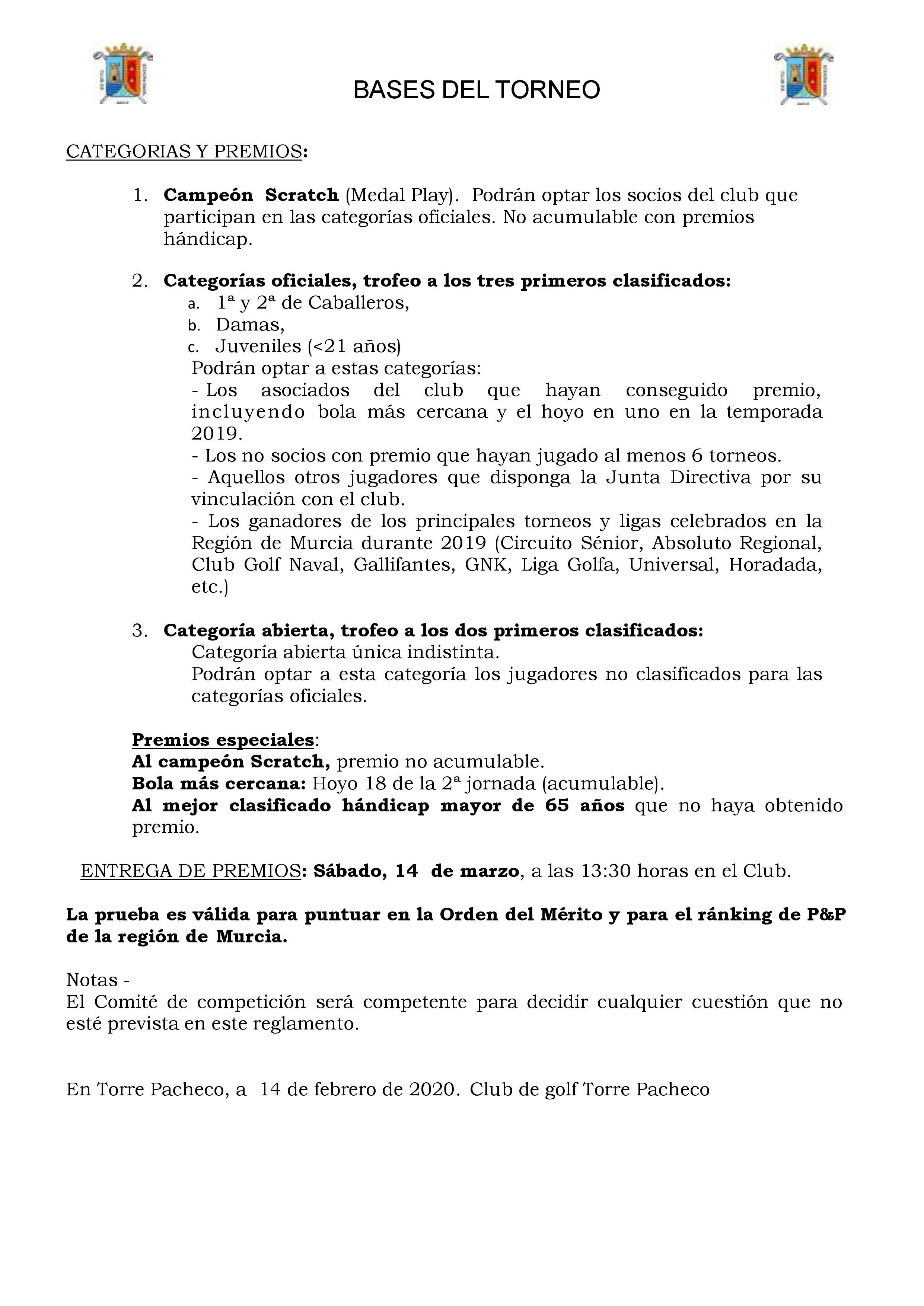 200314 TPA, Reglamento (2)