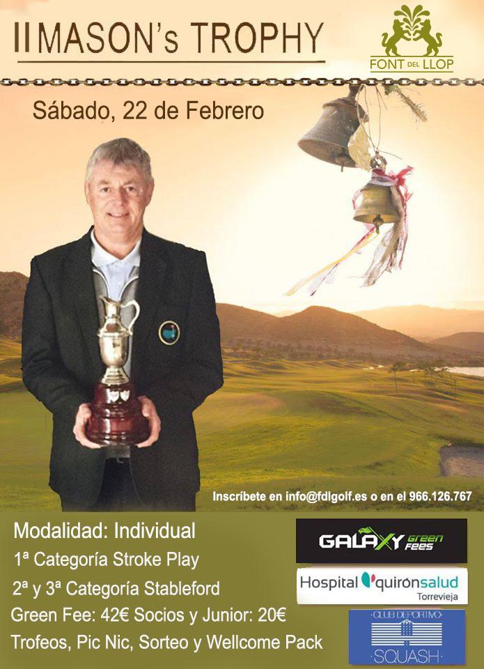 200222 FON, Cartel del torneo