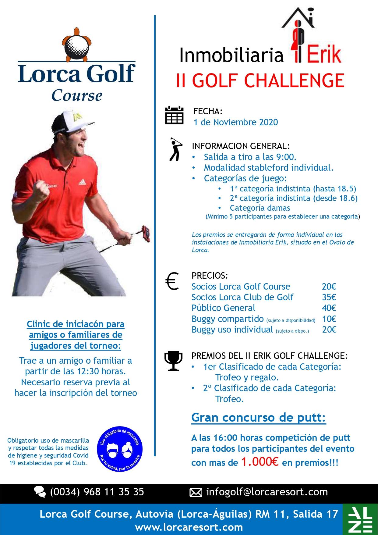 201101 LOR, Cartel del torneo
