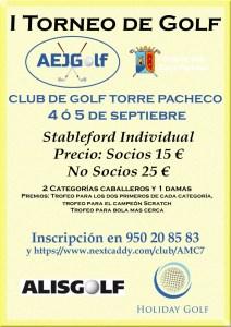 210905 TPA, Cartel del torneo