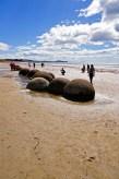 Les boulders de Moeraki, une formation géologique particulière
