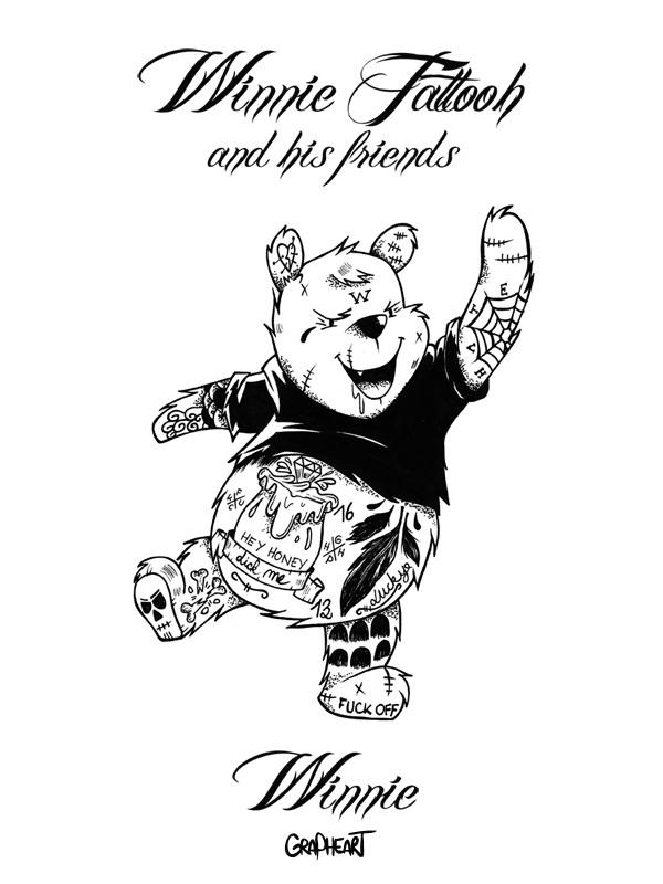 Winnie Tattooh: Winnie The Pooh Characters With Tattoos